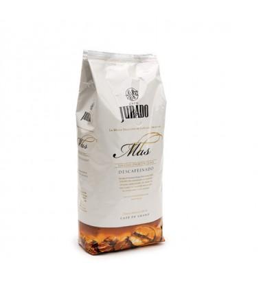 Zrnková káva Jurado Mas bez kofeinu